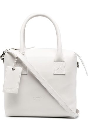 MARSÈLL Logo-embossed leather tote