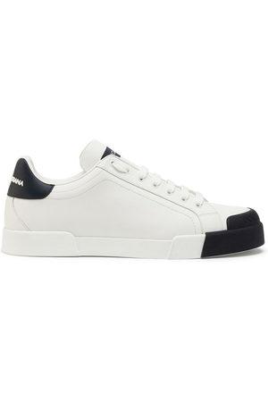 Dolce & Gabbana Men Sneakers - Portofino two-tone sneakers