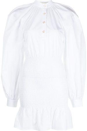 Anna Quan Women Casual Dresses - Vittoria ruched shirt dress