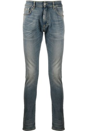 Represent Mid-rise slim fit jeans