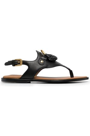 See by Chloé Logo-plaque flat sandals