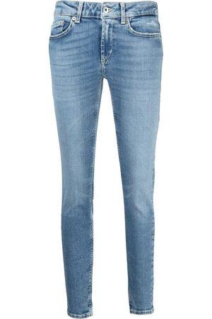 Dondup Women Skinny - Low-cut skinny jeans