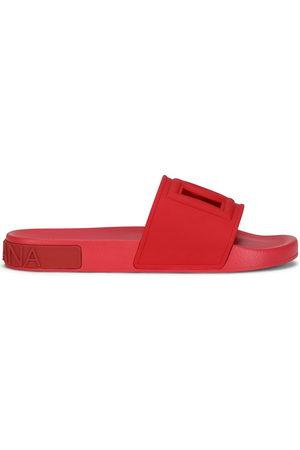 Dolce & Gabbana Men Sandals - Cut-out logo slides