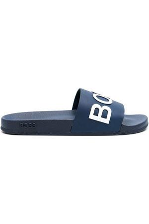 HUGO BOSS Men Sandals - Bay emed logo slides
