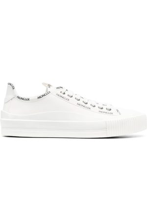 Moncler Logo-tape lace-up sneakers