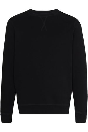 Sunspel Men Sweatshirts - Crew-neck long-sleeve sweatshirt