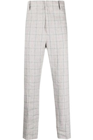 Isabel Marant Men Formal Trousers - Plaid tailored trousers