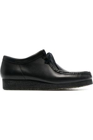 Clarks Men Footwear - Wallabee leather lace-up shoes
