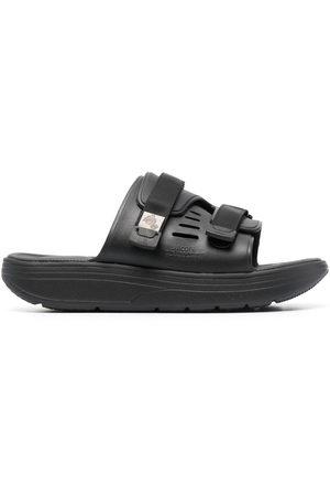 SUICOKE Men Flats - Touch-strap flat sandals