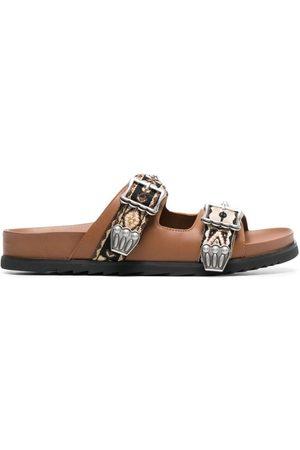 Ash Women Platform Sandals - Ulysse studded slide sandals