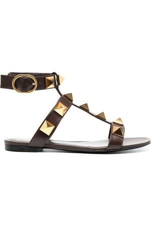 VALENTINO GARAVANI Women Platform Sandals - Rockstud leather sandals