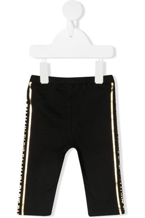 Balmain Baby Leggings - Logo-stripe cotton leggings