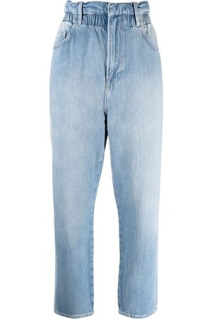 Frame Women Tapered - Paperbag-waist tapered jeans