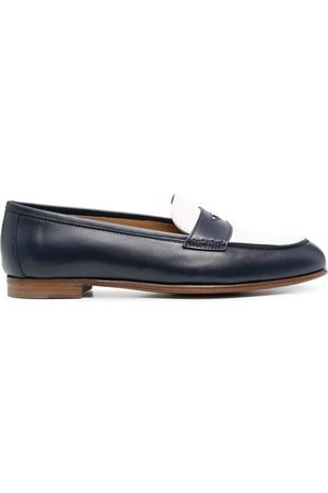 Polo Ralph Lauren Halle two-tone loafers