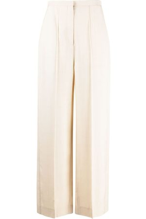 Totême Women Trousers - Pine high-waisted trousers