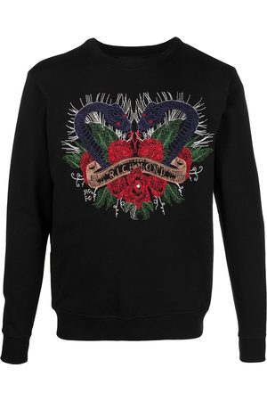 John Richmond Men Sweatshirts - Embroidered logo sweatshirt