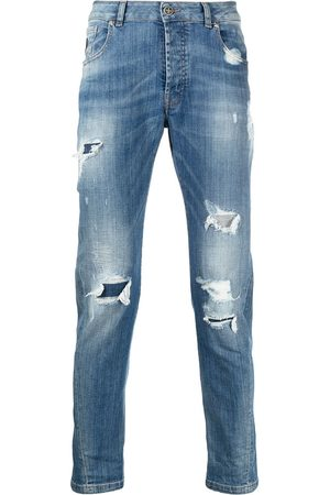 John Richmond Men Slim - Mick distressed slim-fit jeans