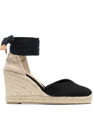 Castaner Women Wedge Sandals - Ankle-tied espadrille wedges