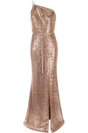 Marchesa Notte Women Dresses - Sequin-embellished bridemaids dress
