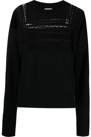 Barrie Women Jumpers - Lace-panel detail jumper