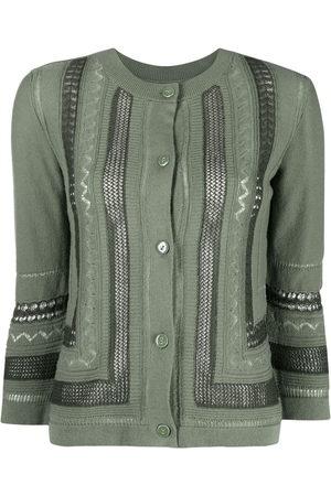 Barrie Women Cardigans - Lace-detail cardigan