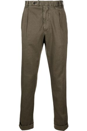 DELL'OGLIO Box pleat chinos