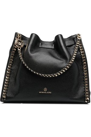 Michael Kors Women Tote Bags - Chain-detail leather tote bag