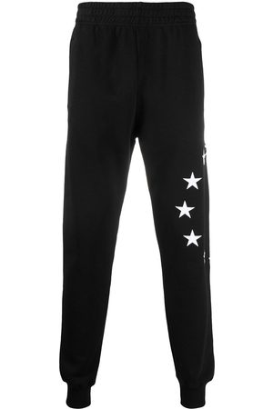 Etudes Star-embroidery track trousers