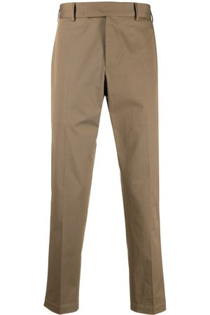 PT01 Men Formal Trousers - Stretch-cotton tailored trousers