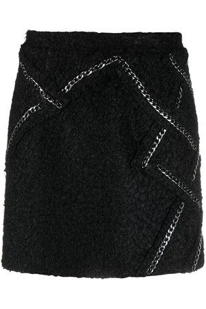 LOULOU Tweed mini-pencil skirt