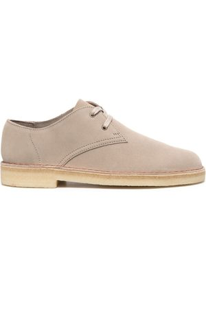 Clarks Lace-up suede shoes