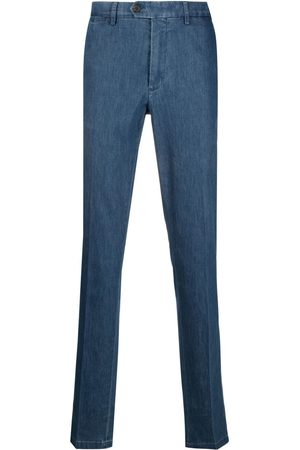 CANALI Men Slim Trousers - Slim-fit denim trousers