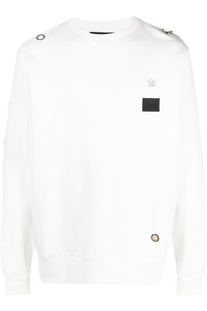 John Richmond Grommet-detail sweatshirt