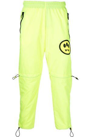 BARROW Men Trousers - Smiley-motif track trousers