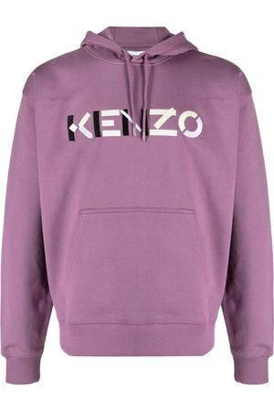 Kenzo Men Hoodies - Logo embroidered hoodie