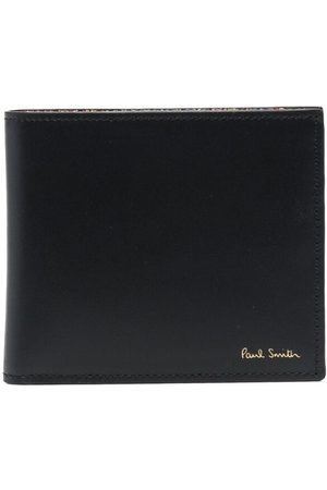 Paul Smith Men Wallets - Artist stripe-print leather wallet