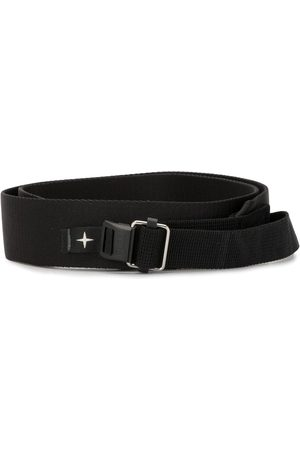 Stone Island Men Belts - Webbing logo strap belt