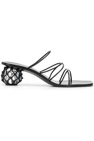 Cult Gaia Women Platform Sandals - Kelly leather sandals