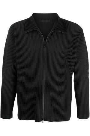 HOMME PLISSÉ ISSEY MIYAKE Men Jackets - Pleated zipped jacket