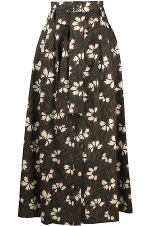 P.a.r.o.s.h. Women Printed Skirts - A-line floral print skirt