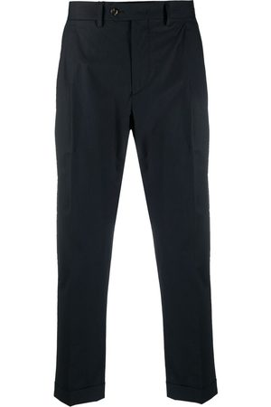 DELL'OGLIO Men Formal Trousers - Cropped tailored trousers