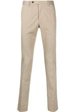 PT01 Men Chinos - Off-centre button trousers