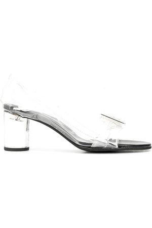 Comme des Garçons Women Sandals - Mid-heel transparent sandals