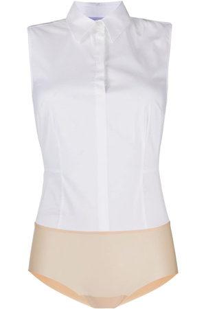 Wolford Women Bodies - London Effect shirt body