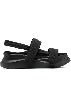 Rick Owens Men Sandals - Slingback chunky sole sandals