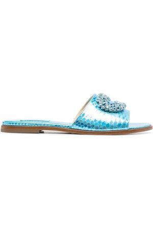 GIANNICO Women Platform Sandals - Daphne open-toe sandals