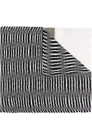 Missoni Patch-work embroidered scarf