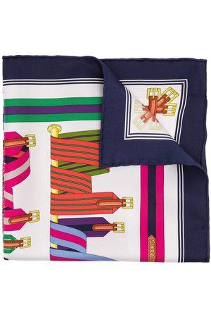 Hermès Women Scarves - Pre-owned Les Sangles scarf