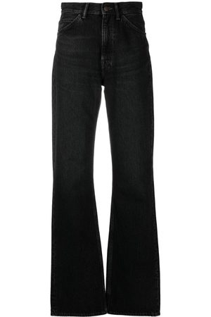Acne Studios Women High Waisted - High-waisted flared jeans