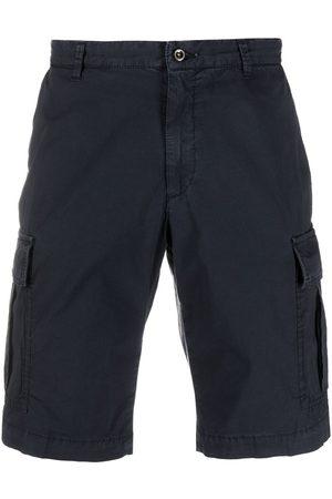 BRIGLIA Men Shorts - Cargo pocket knee-length shorts